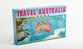 Travel Games Australian Board Game